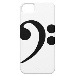 Clef bajo iPhone 5 funda