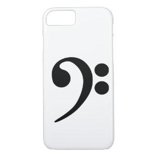 Clef bajo funda iPhone 7