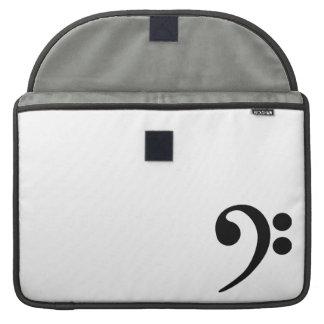 Clef bajo fundas para macbooks