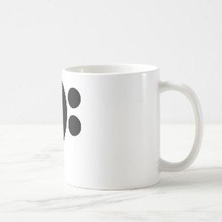 Clef bajo taza clásica