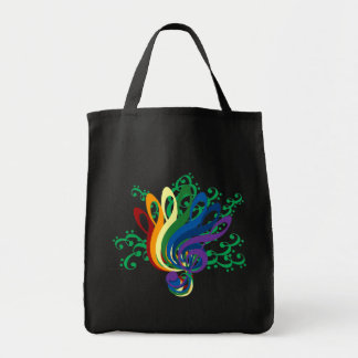 Clef Bouquet Tote Bag