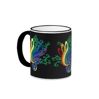 Clef Bouquet mug