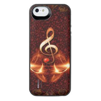 Clef decorativo con efectos luminosos funda power gallery™ para iPhone 5 de uncommon