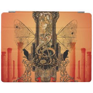 Clef decorativo hermoso cover de iPad
