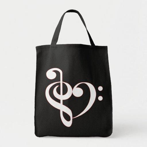 Clef Heart Bag