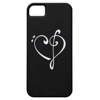 Clef Heart iPhone 5 Cases