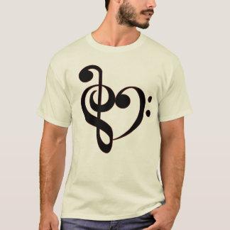 Clef Heart Shrit T-Shirt