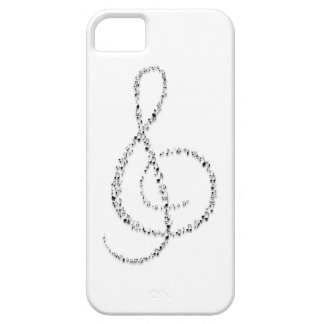 Clef notes iPhone SE/5/5s case