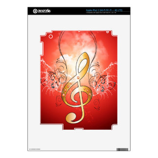 Clef Decal For iPad 3