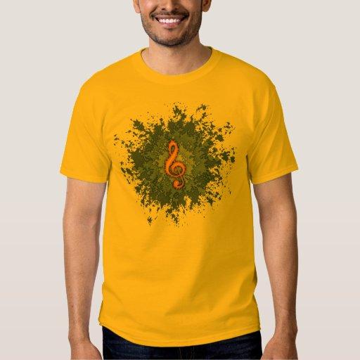 Clef Splat II T Shirts