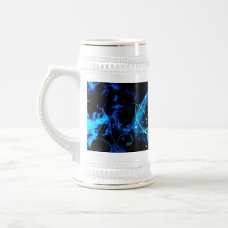 Clef with awesome light effects 18 oz beer stein
