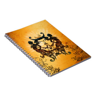 Clef with awesome silhouette notebooks