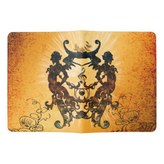 Clef with awesome silhouette extra large moleskine notebook cover with notebook