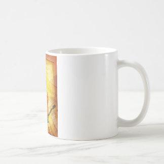 Cleff Note Guitar Coffee Mug
