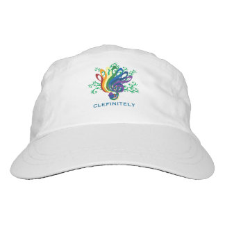 Clefinitely Music Clef Bouquet Customizable Text Headsweats Hat