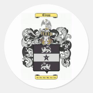 Clegg Classic Round Sticker