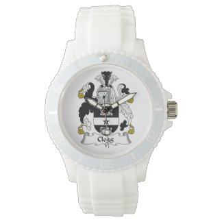 Clegg Family Crest Wristwatches