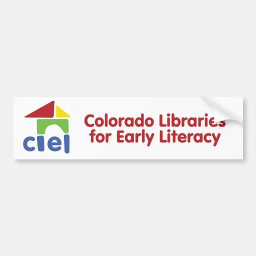 CLEL Logo Bumper Stickers