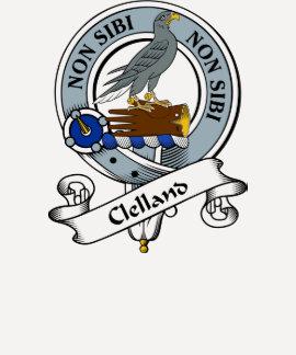 Clelland Clan Badge Tshirts