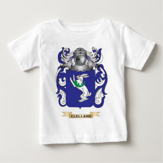 Clelland Coat of Arms Baby T-Shirt