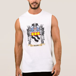 Clem Coat of Arms - Family Crest Sleeveless Shirt