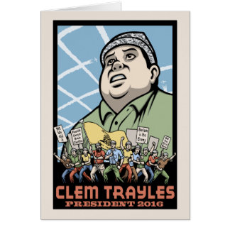 Clem Trayles President Card