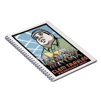 Clem Trayles President Notebook