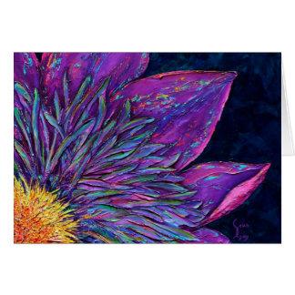 Clemantis Flower Fine Art Greeting Card Selah Gay