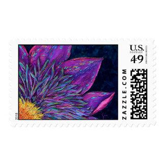 Clemantis Flower Postage Stamp