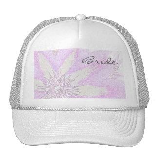 Clematis Bride's Cap Trucker Hat