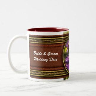 Clematis - Clematis & Lamp Two-Tone Coffee Mug