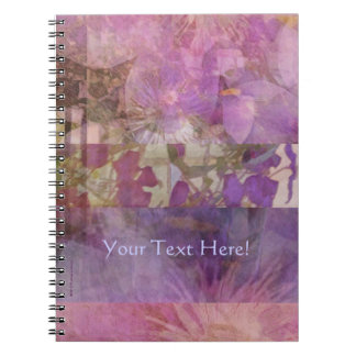 Clematis Collage Notebook