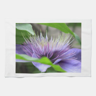 Clematis Flower  Kitchen Towel