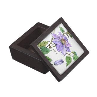 Clematis Gift Box Premium Keepsake Box