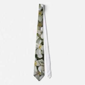 Clematis Montana Neck Tie