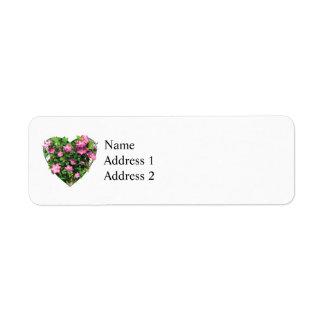 Clematis on a Trellis Custom Return Address Labels