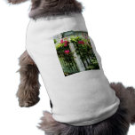 Clematis on Fence Pet Tshirt
