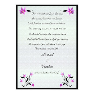 Clematis on Stoney Path elopement announcement
