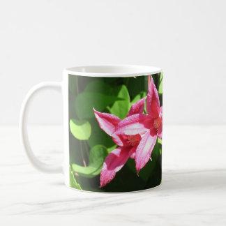 Clematis, Princess Diana Classic White Coffee Mug