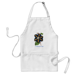 Clematis Star of India Adult Apron