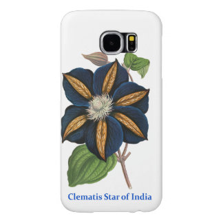 Clematis, Star of India Samsung Galaxy S6 Case