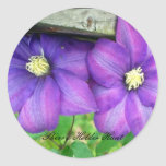 Clematis Stickers