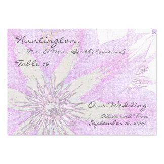 Clematis Table Place Cards