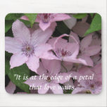 Clematis Unfurled Mousepad
