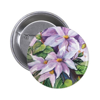 CLEMATIS - WATERCOLOUR PINS