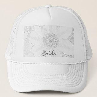 ClematisPostcard3b, Bride Trucker Hat