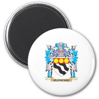 Clemence Coat of Arms - Family Crest Refrigerator Magnet
