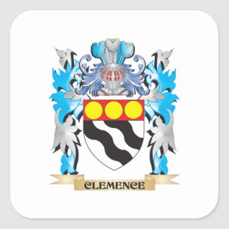 Clemence Coat of Arms - Family Crest Sticker