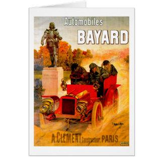 Clément-Bayard ~ Vintage Automobile Advertisement Card