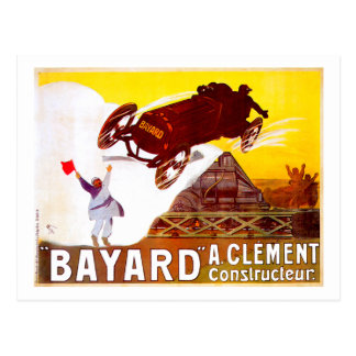 Clément-Bayard ~ Vintage French Automobile Ad Postcard